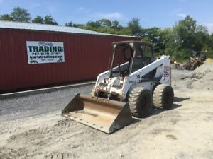 2001 Bobcat 863 Skid Steer Loader