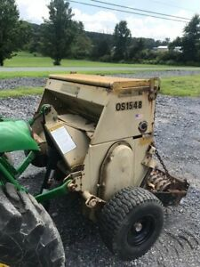2004 Landpride Os1548 3pt Over Seeder For Compact Tractors