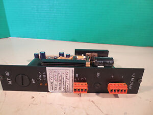 Nachi Asea Battery Display Unit Nt40 Bur Nt031