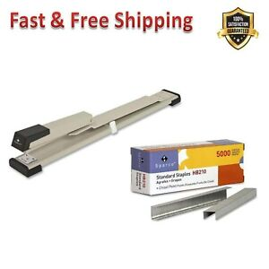 Stapler Standard Chisel Point Staples For Binding Books Pamphlets Brochures New