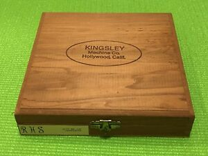 Kingsley Machine Rhs 36pt Bel Air Monogram Hot Foil Stamping Machine Type Set