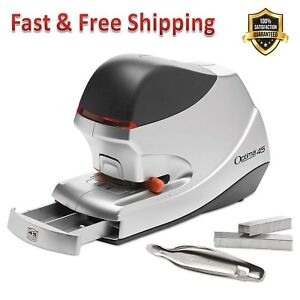 Electric Stapler Value Pack 45 Sheet Capacity Remover Staple Indicator Alerts