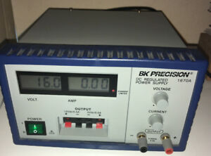 Bk Precision 1670a Dc Power Supply Used Excellent Working Condition