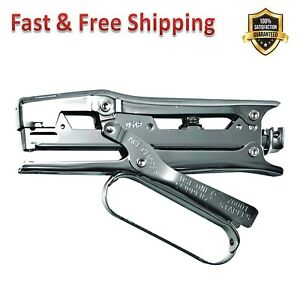 Ace Clipper Plier Stapler Steel Construction Chrome Finish For Commercial Use