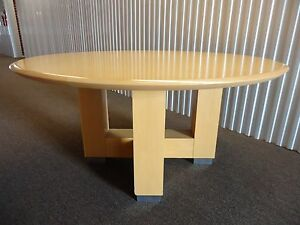 Steelcase Convene 60 Round Conference Table Or Desk Table With X panel Base