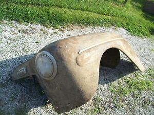 1946 Ford Steel Front Fender 46 1947 1948 Coupe Conv L9 Jalopy Rat Rod Hot