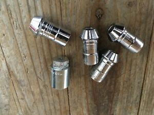 4 Used Factory Chrome Wheel Lock Lug Nuts 15 16 17 18 19 Ford F150 Oe Stock 11