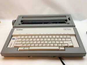 Electronic Typewriter Brother Gx 7000 Correctronic