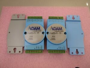 2 Used Adam 4060 Data Acquisition Modules