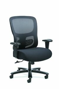 Sadie Big And Tall Office Computer Chair Height Adjustable Arms With Adjustable
