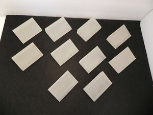 Frosted Acrylic Display Blocks Lot Of 10 Price Tag Holders 3 By 2