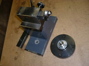 Moore Tailstock And Adjustable Center 2