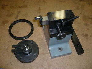 Moore Tailstock And Adjustable Center 1