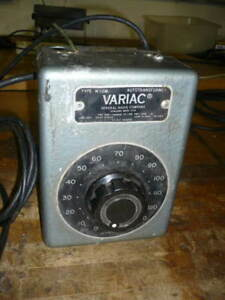 General Radio Variac W10m 120 Volts 10 Amps