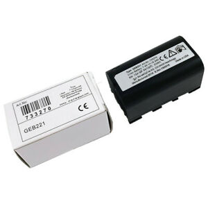 New Replacement Geb221 Battery For Leica Ts02 Ts06 Ts09 Tps1200 Total Station
