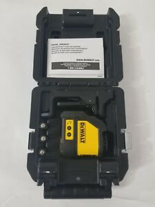 Dewalt Cross Line Laser Level Dw088k