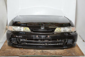 Jdm Integra Db6 Front End Conversion Non Hid Chrome Housing One Piece Headlights