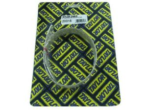 Taylor 20318 4 Gauge Stainless Braided 18 Ground Strap