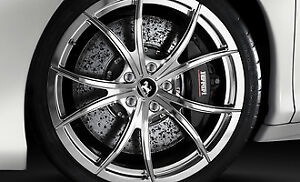 Genuine Ferrari 458 Lightweight Chrome Polished Wheels Rims Oem Part 70004176