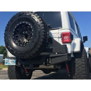 Iron Cross Gp 2202 Stubby Rear Bumper W tire Carrier For 18 19 Jeep Wrangler Jl