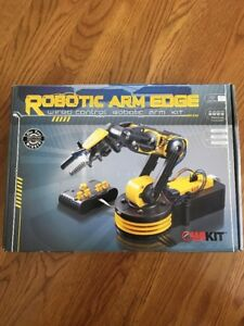 Owi 535 Robotic Arm Edge New In Box Free Shipping Wired Control Robotic Arm Kit