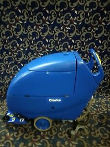 Clarke Focus Boost 20 Orbital Floor Scrubber With New Batteries