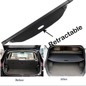 Newest Trunk Luggage Security Shade Cargo Cover Blind For Kia Sportage 2017 2019