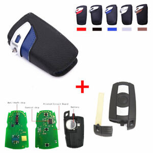 Smart Remote Control Car Key Fob Replacement Key Bag For Bmw 1 3 5 6 7 Series