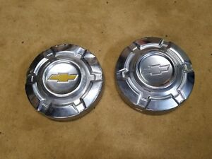 2 68 72 Chevy Pickup Truck Dog Dish Wheel Hub Cap Oem 1500 Chevrolet