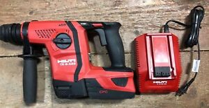 Hilti Te 6a22 Cordless Concrete Hammer Drill 21 6v W Battery And Charger