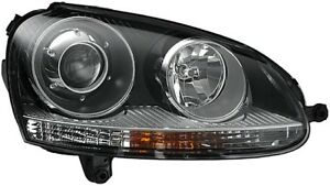 Headlight Assembly Front Right Hella 010168021 Fits 06 10 Vw Jetta