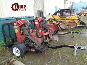 2013 Toro Stx26 Walk Behind Stump Grinder With Trailer