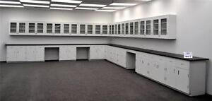 Laboratory Cabinets Furniture W Counter Tops 39 Base 36 Wall