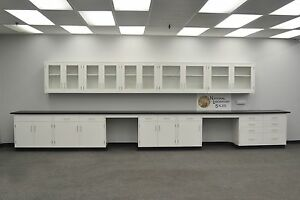 Laboratory 22 Base 17 Wall Furniture Cabinets Case Work Quick Ship