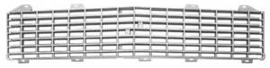 71 72 Chevy C10 Truck Plastic Inner Grill With Argent Silver Details