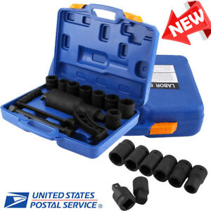 Torque Multiplier Set Wrench Lug Nut Labor Saving Lugnut Remover W 8 Sockets