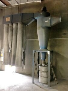 Torit donaldson Cyclone 15 Hp Dust Collector 30