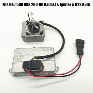Hid Xenon Ballast Igniter D2s Bulb For Hella 5dv 008 290 00 Headlight Unit