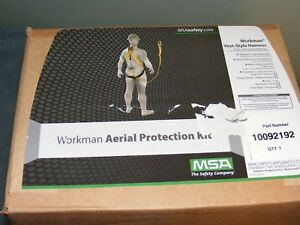 Fall Protection Harness Ppe Set With Harness And Lanyard Roofing Steelworkers