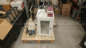 Branson Sonifier 450 Cell Power Supply With Disruptor Cabinet And Convert