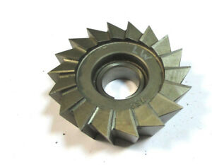 Angle Milling Cutter Hss Dmo5 80 X25x22 75 Type H Pws Wmw H22586