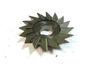 Angle Milling Cutter Hss 63 X12x16 40 Type H Pws Wmw Mint H22583