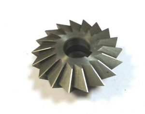 Angle Milling Cutter Ss 80 X30x22 75 Von Pws Wmw Mint H22581