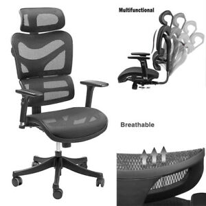 Sieges Modern Fabric Mesh High Back Executive Computer Desk Task Office Chair