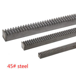 1pcs 4 0mod 40 40 1000mm Gear Rack 4 0module 45 Steel Gear Rack