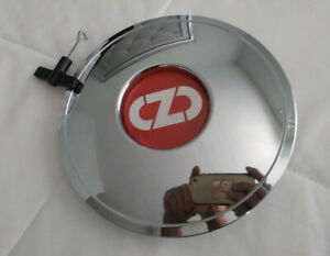 1 Oz Chrome Center Cap Pcm678 For Oz 45th Anniversary Wheels With Removal Tool