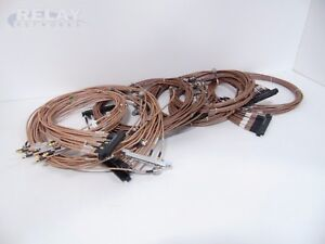 Lot Of 96 Huber Suhner And Harbour Rg142 M17 60 523892 Rf Cables