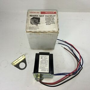 Honeywell Tradeline Fan Relay With Spdt Switching Part R8225a 1017 New