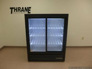 True Gdm 41sl 60 ld 47 Black Led Glass Soda Slim Pop Refrigerator Cooler 2016
