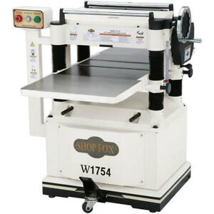 Shop Fox W1754 20 Planer With Built In Mobile Base